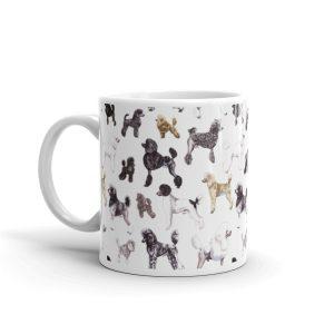 Poods Glorious Poods White glossy mug