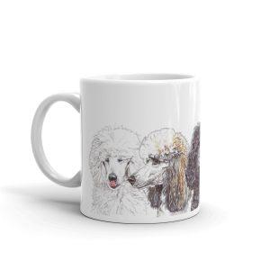 Just a Spoo Full of Sugar – White glossy mug
