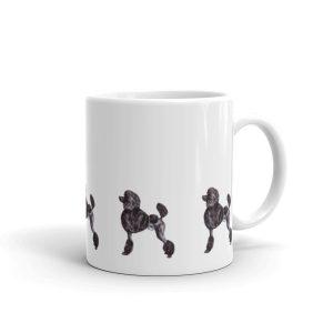 Standard Poodle Black – Mug