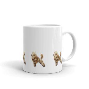 Toy Poodle Red – Mug