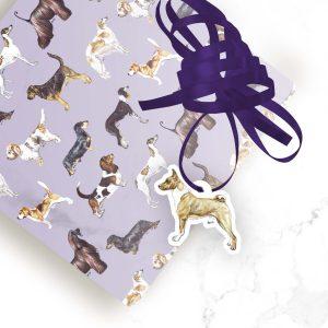 Basenji – Shaped Gift Tags (Pack of Three)