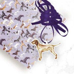 Hungarian Wirehaired Vizsla – Shaped Gift Tags (Pack of Three)