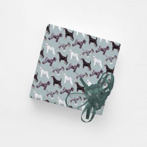 Our Schnauz in the Middle of the Street – Gift Wrap