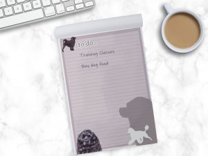 Portuguese Water Dog – To Do List Pad