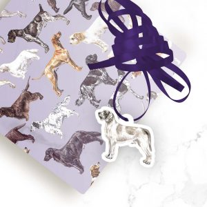 Slovakian Rough Haired Pointer – Shaped Gift Tags (Pack of Three)