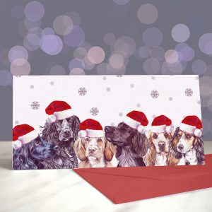Wocking All Over the World Christmas Greeting Card