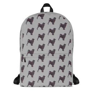 Portuguese Water Dog – Black – Backpack