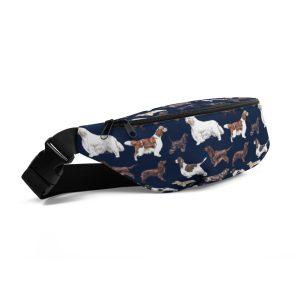 Star Spanieled Banner – Wander Belt – Dog Walking Bag – Fanny Pack – Bum Bag