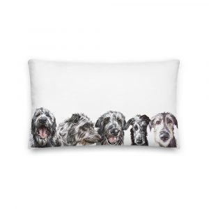 Deer Future Houndsband – Throw Pillow