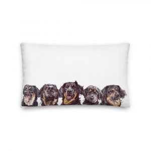 Hovvin' Dog Problems – Throw Pillow