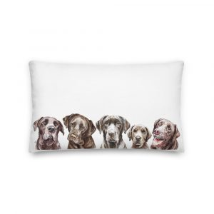 Drop It Like It's Choc – Long Pillow