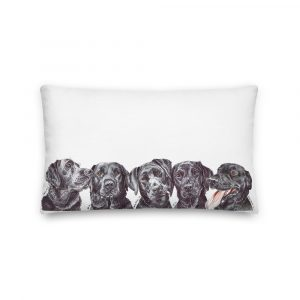 Welcome to the Black Pawrade – Throw Pillow