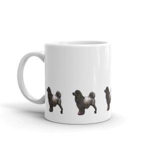 Portuguese Water Dog – Brown – Mug