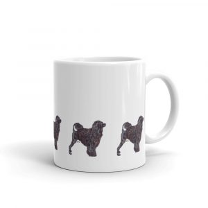 Portuguese Water Dog – Black – Mug