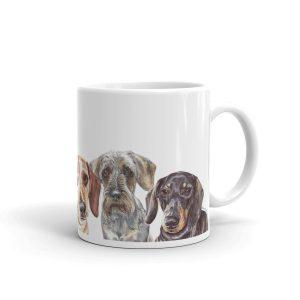 Dachshing in the Street – Mug