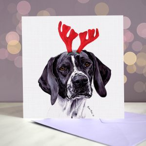 Christmas Greeting Cards – English Pointers