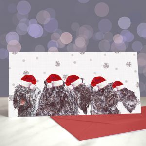 Kerry On My Wayward Son – Kerry Blue Greeting Cards (Christmas)